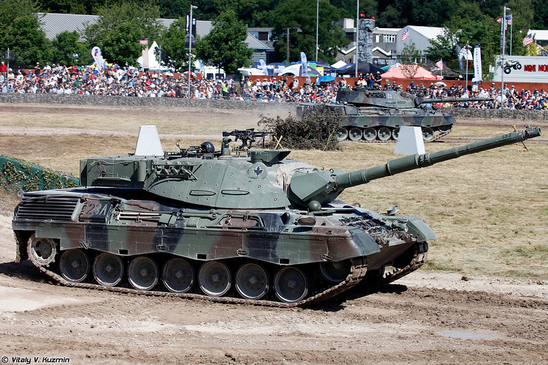 Танк Леопард С2 (Leopard C2 main battle tank)