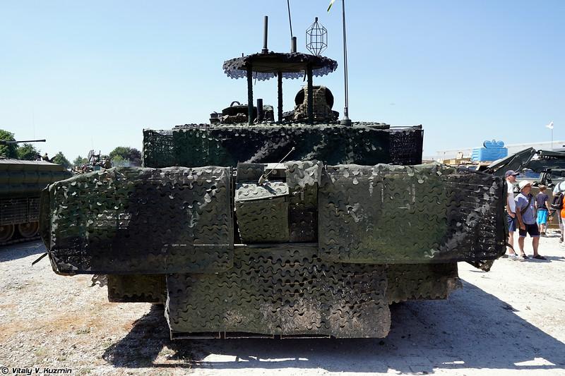Танк Challenger 2 с комплектом TES , опытный образец 8, известный также под именем Мегатрон. (Challenger 2 TES Megatron)