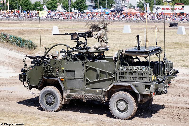 Бронированная разведывательно-дозорная машина Jackal 2 (Jackal 2 armoured vehicle)