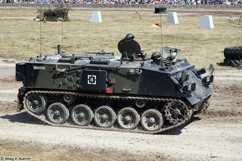 Бронетранспортер FV432 (FV432 armoured personnel carrier)
