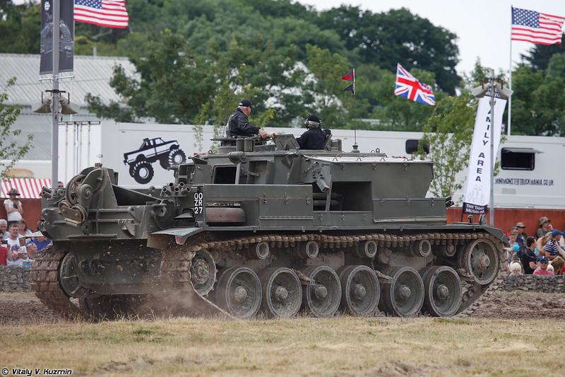 Бронированная ремонтно-эвакуационная машина Centurion ARV (Centurion ARV)