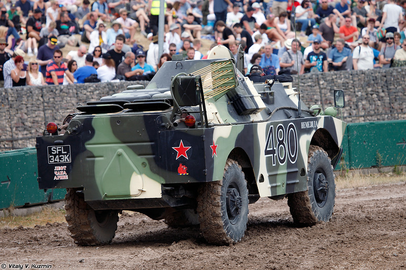 БРДМ-2РХБ (BRDM-2RKhB NBC reconnaissance vehicle)