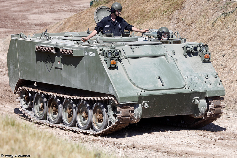 Бронетранспортер M113A3 (M113A3 armoured personnel carrier)