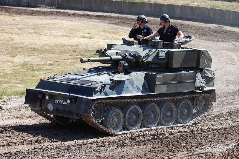 Легкий разведывательный танк Scorpion (Combat Vehicle Reconnaissance (Tracked) Scorpion)