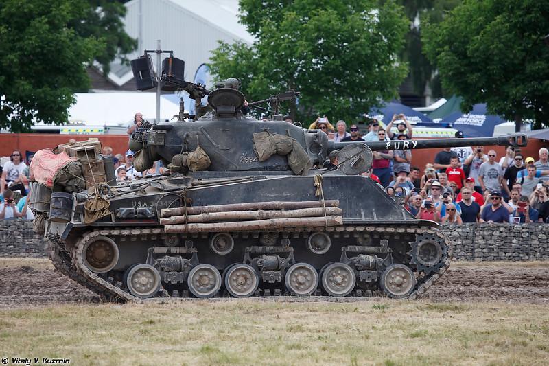 """M4A2E8 Sherman """"Fury"""""""
