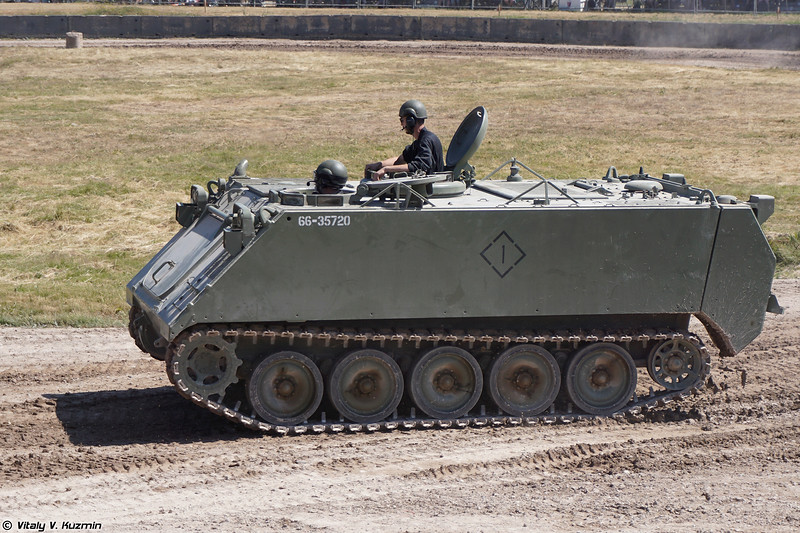 Бронетранспортер M113A3 (M113A3 armoured personnel carrier)