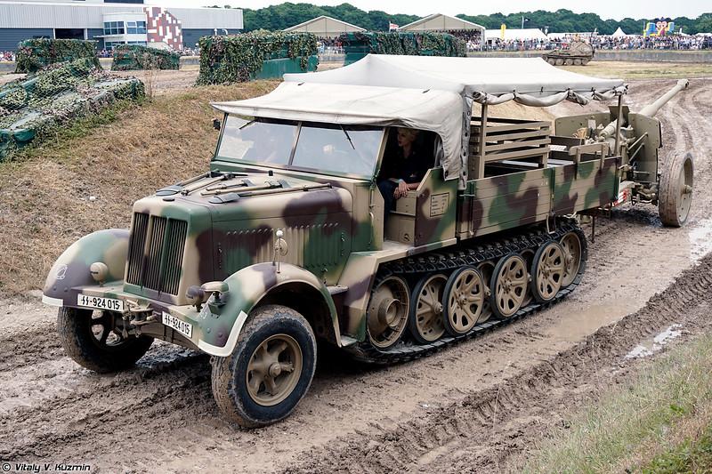 Тягач Sd.Kfz. 7 с пушкой Pak 43/41 (Sd.Kfz. 7 with Pak 43/41 anti-tank gun)
