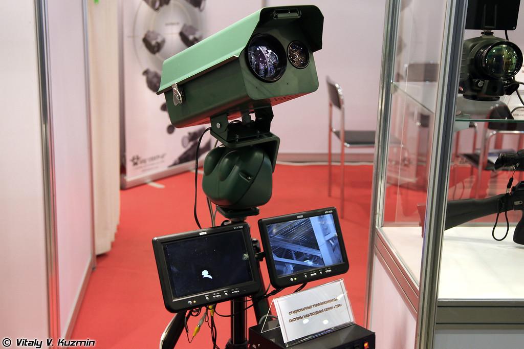 Стационарная тепловизионная система наблюдения серии ТСН (Thermal imaging surveillance system TSN)