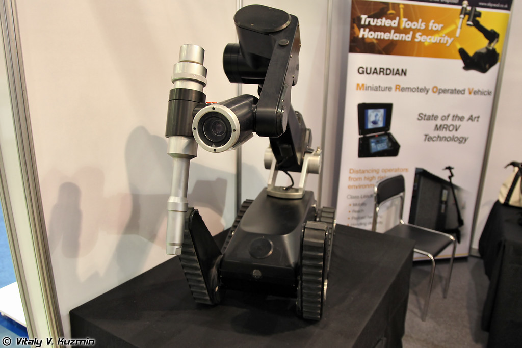 Роботизированный комплекс Guardian от AB Precision (Guardian remotely operated vehicle from AB Precision)