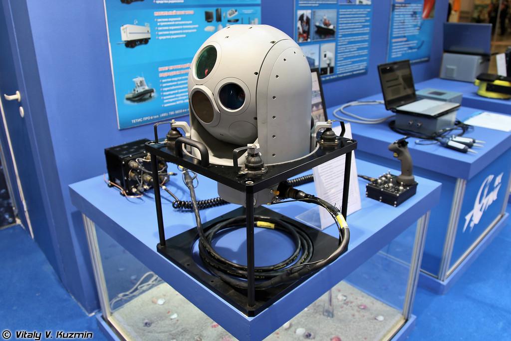 Гиростабилизированная оптико-электронной система КВАД (QUAD optical-electronic system)