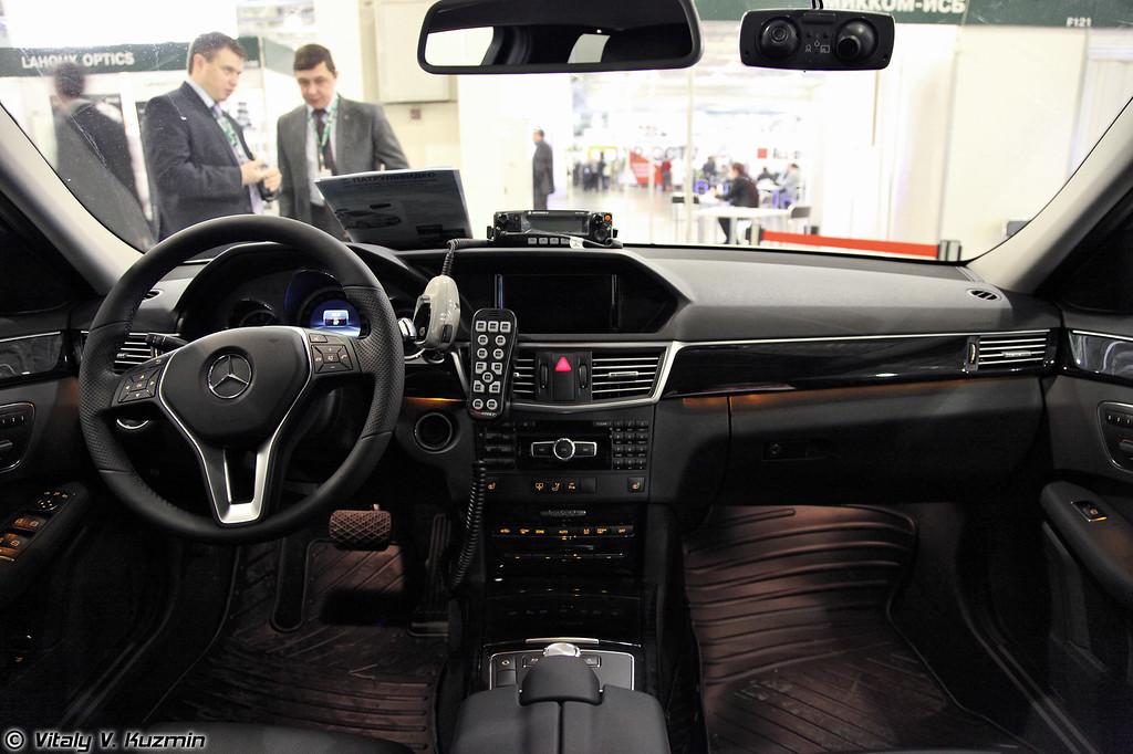 Система мобильного видеонаблюдения ПАТРУЛЬВИДЕО, установленная в автомобиле ДПС (Dashcam system PATRULVIDEO for Road police vehicles)