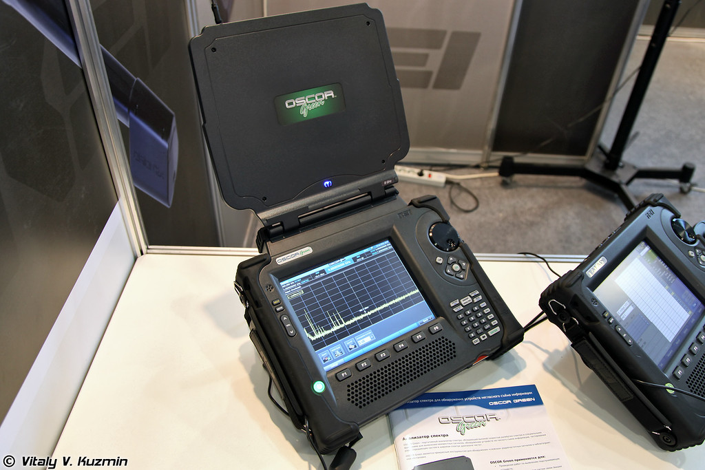 Анализатор спектра OSCOR Green для обнаружения устройств негласного съема информации (OSCOR Green spectrum analyzer)