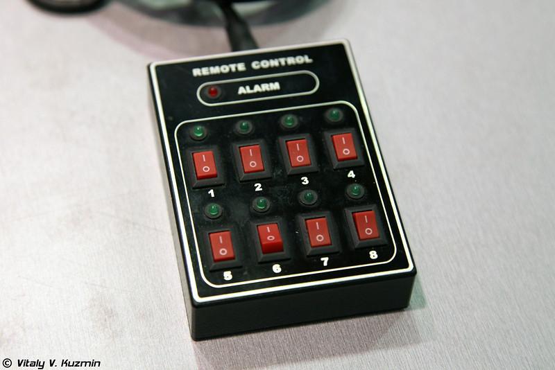 Пульт управления для блокираторов ПЕРСЕЙ с поканальным управлением (PERSEY jammers remote control device)