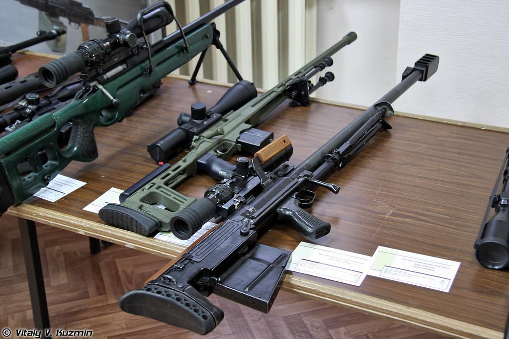 12,7-мм снайперский комплекс 6С8 Корд (6S8 Kord sniper rifle)