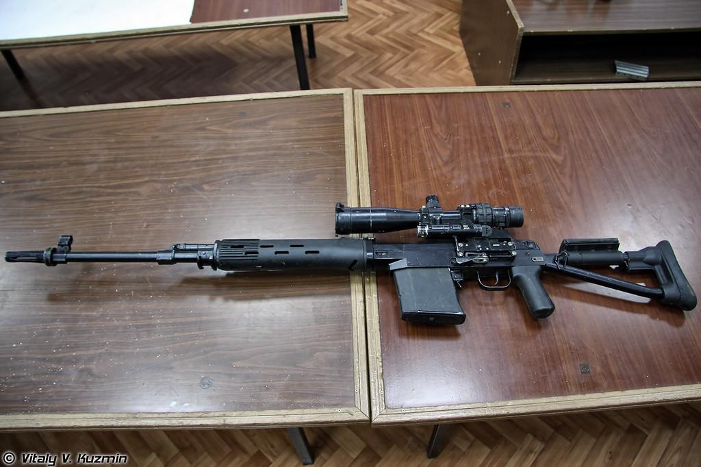 Снайперская винтовка СВДК (SVDK sniper rifle)