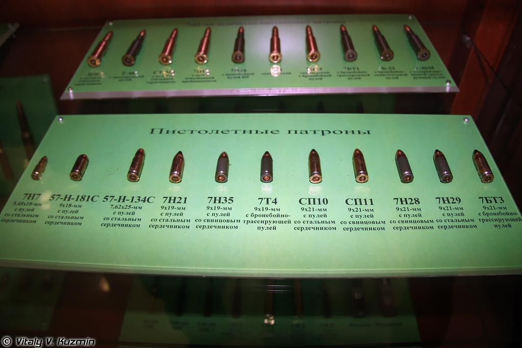 Пистолетные патроны (Pistol rounds)