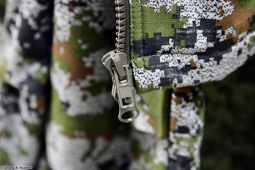 Костюм флисовый модифицированный полевой Автоном-2-МП в расцветке Сумрак (Avtonom-2-MP modified field fleece suit in Sumrak pattern)