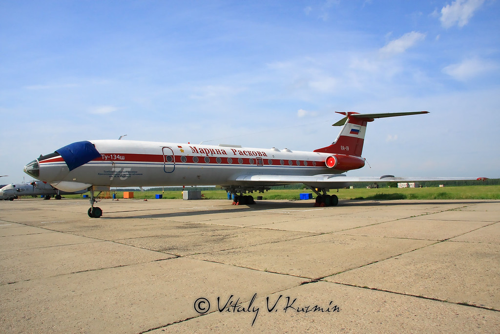 Ту-134Ш Марина Раскова (Tu-134Sh Marina Raskova)