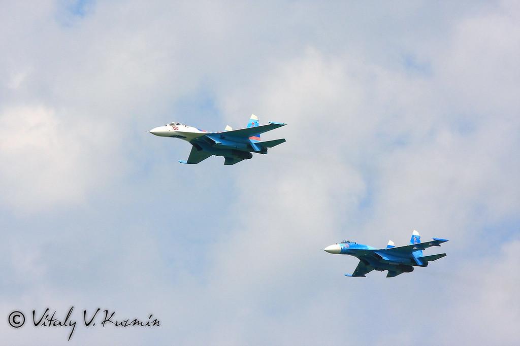 Авиационная групп высшего пилотажа Соколы России (Falcons of Russia aerobatics team)