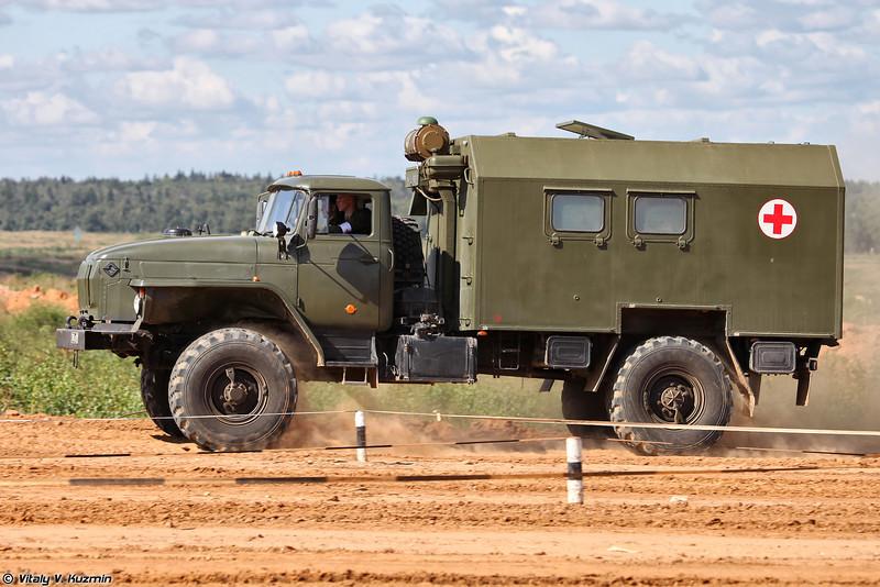 Санитарный Урал-43206. (Medic Ural-43206)