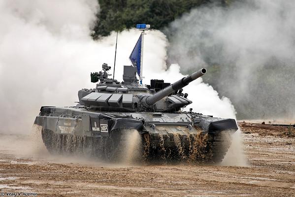 The Final of International Tank Biathlon 2014 competition