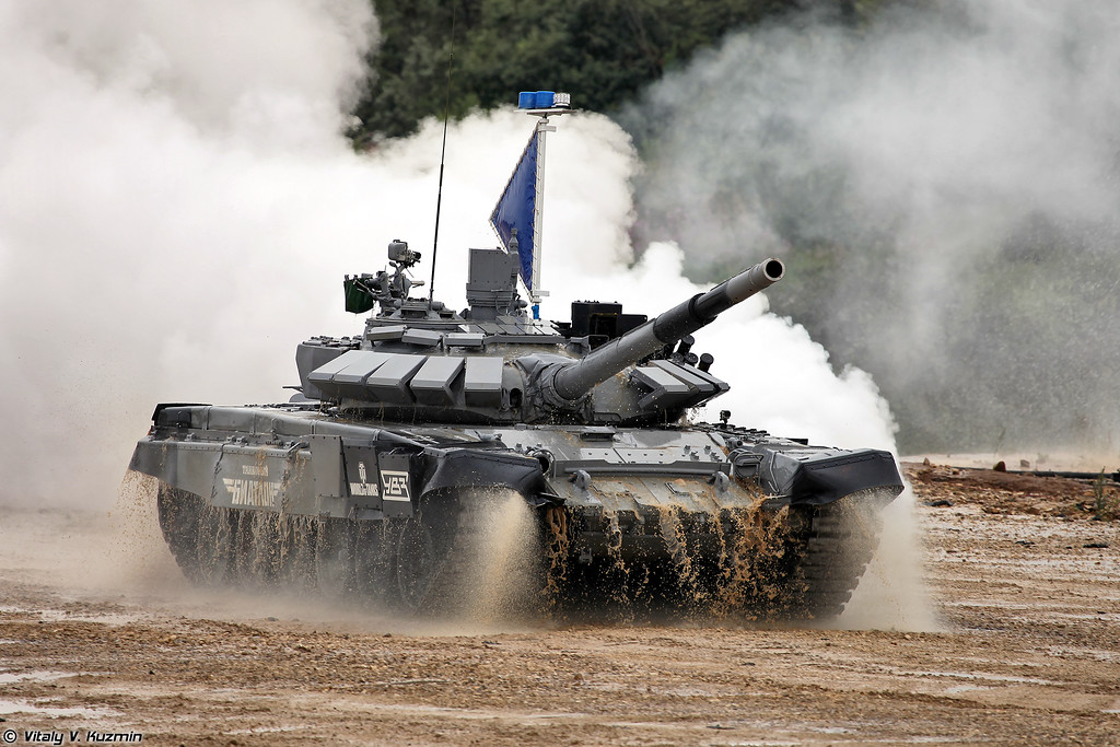 The Final of International Tank Biathlon 2014 competition