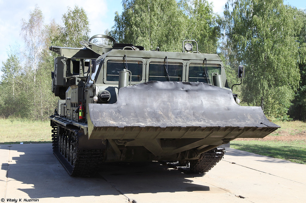 Котлованная машина МДК-3 (MDK-3 excavating vehicle)