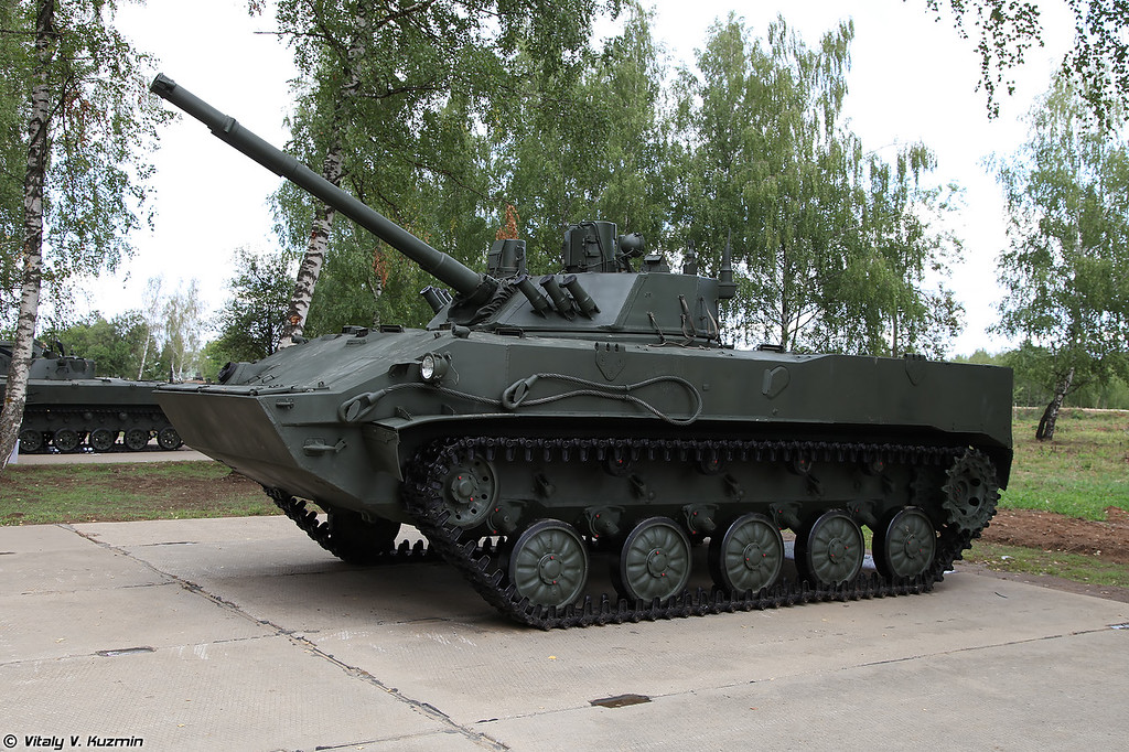 Боевая машина десанта БМД-4 (BMD-4 infantry fighting vehicle)