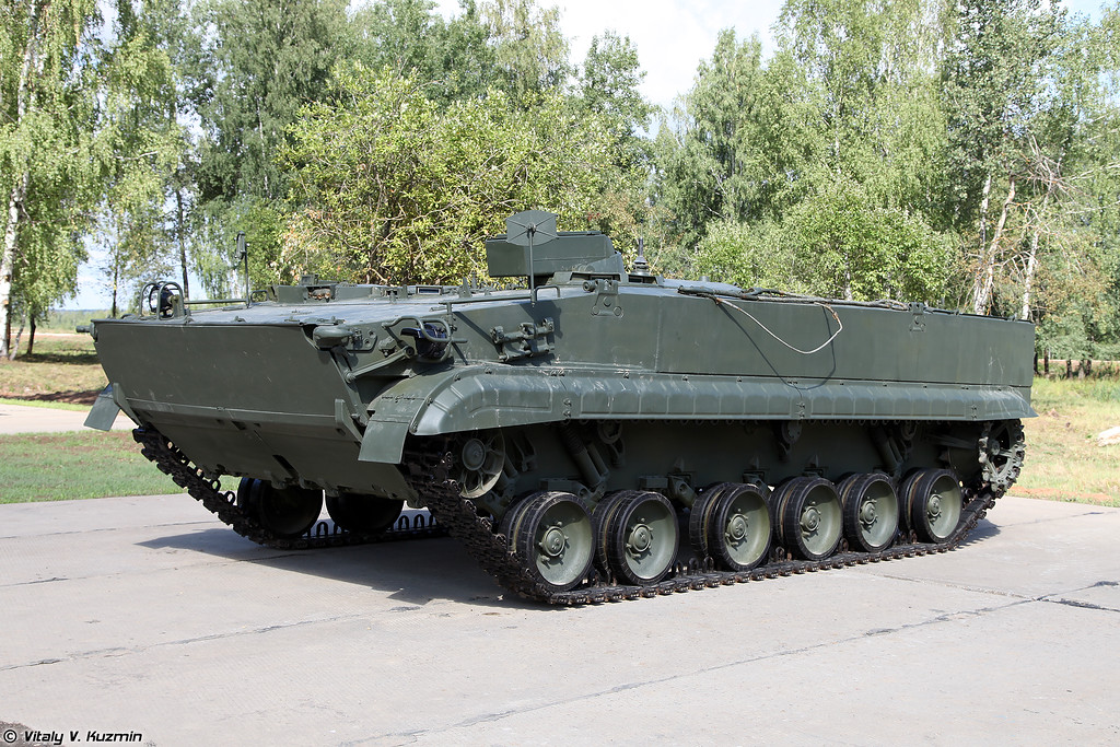 Боевая машина 9П162 ПТРК Корнет (9P162 combat vehicle from Kornet anti-tank missile system)