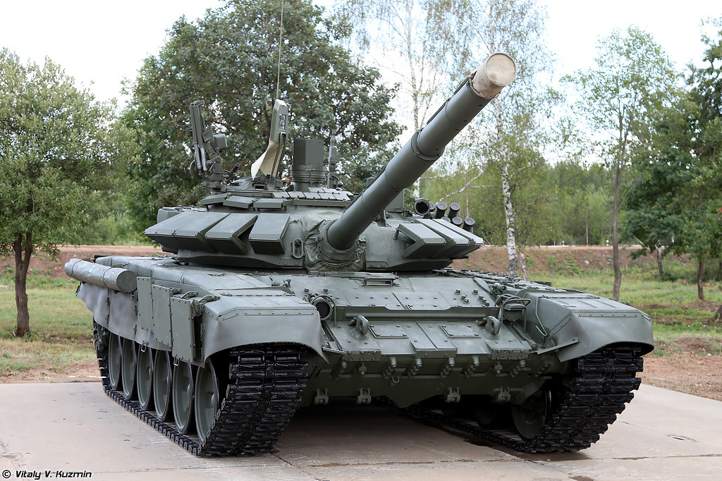 Фотографии танка Т-72Б3М/Б4 (Walkaround of T-72B3M/B4 tank - a special version of T-72B3 for tank biathlon)