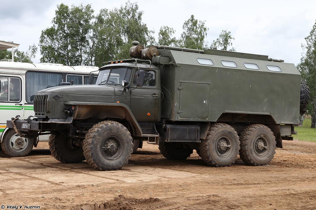 Мастерская технического обслуживания МТО-БТ-1 (MTO-BT-1 maintenance vehicle)