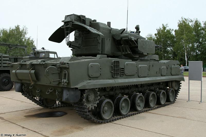 Зенитная самоходная установка 2С6М ЗРПК Тунгуска-М (2S6M combat vehicle 2K22M Tunguska-M)