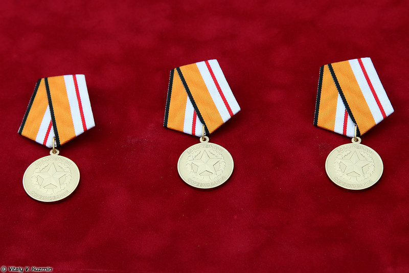 Медали и кубки для победителей российского этапа (Medals and cups for the winners of russian finals)