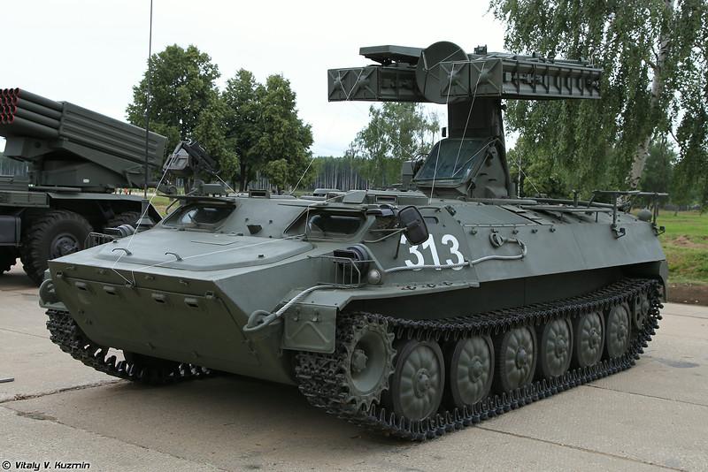 Боевая машина 9А34 ЗРК 9К35 Стрела-10 (9A34 combat vehicle 9K35 Strela-10)