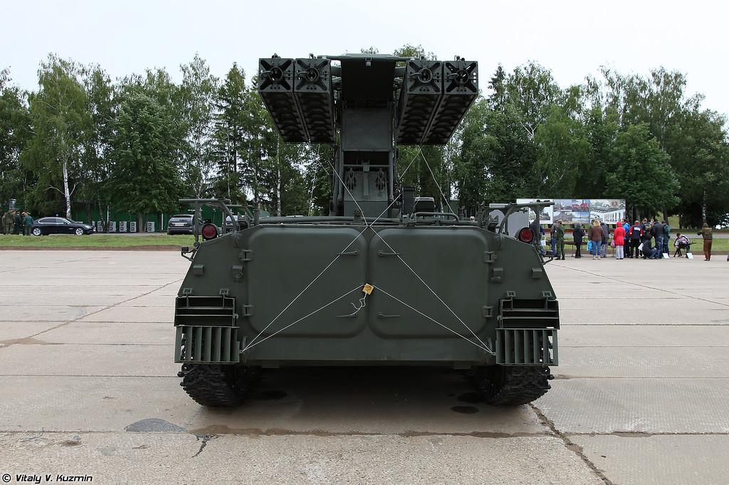 Боевая машина 9А35 ЗРК 9К35 Стрела-10 (9A35 combat vehicle 9K35 Strela-10)
