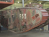 WW1 British Army Mark 2 Female tank 'The Flying Scotsman'