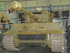 A WW2 German Army Tiger (PzKpfw VI) - identification 131, the only original Tiger in working order - with 88mm main gun.