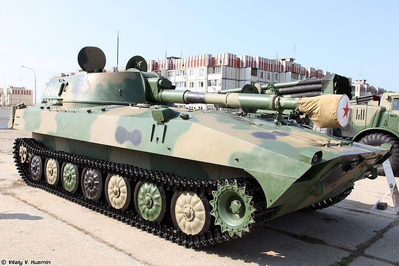САУ 2С1 Гвоздика (2S1 Gvozdika self-propelled howitzer)