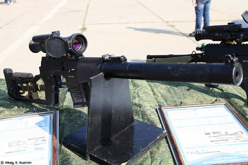 Винтовка снайперская специальная модернизированная ВССМ Винторез 6П29М (Modernized sniper rifle VSSM Vintorez 6P29M)