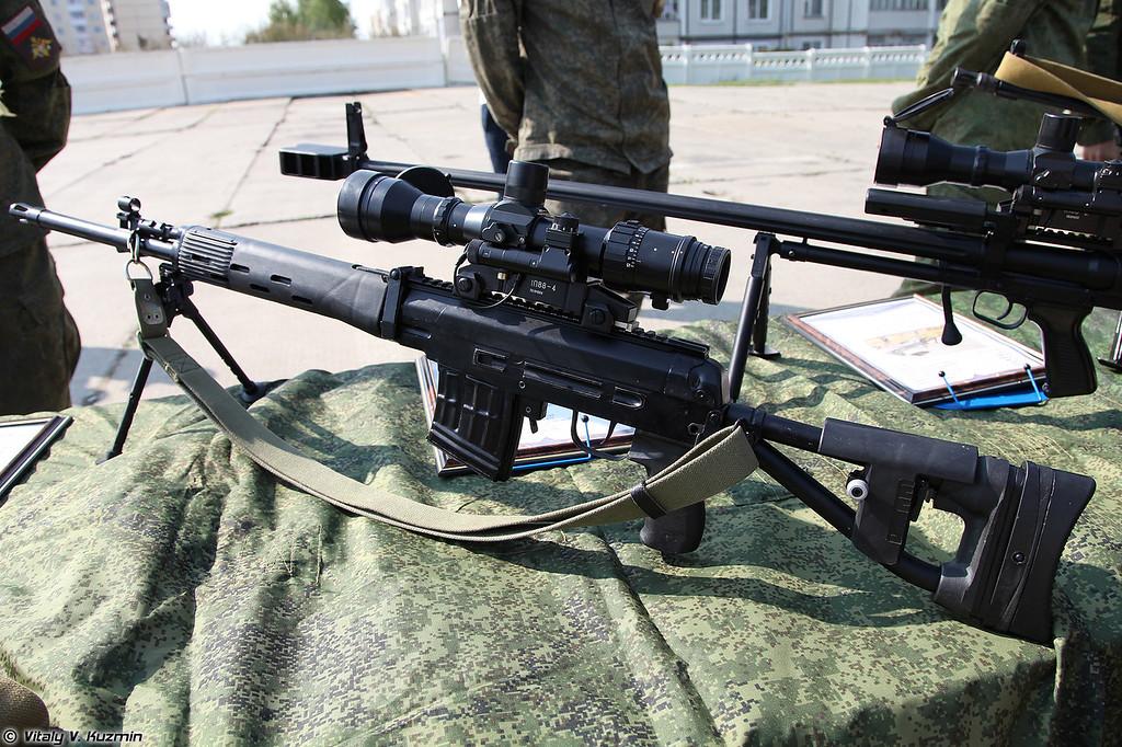 Модернизированная снайперская винтовка СВДМ (Modernized sniper rifle SVDM)