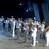 The Naden Band of Maritime Forces Pacific, Victoria. Our Robert is front row 2nd from left on trombone.