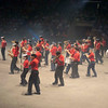 Quebec Cadet Band. They put and great show on.