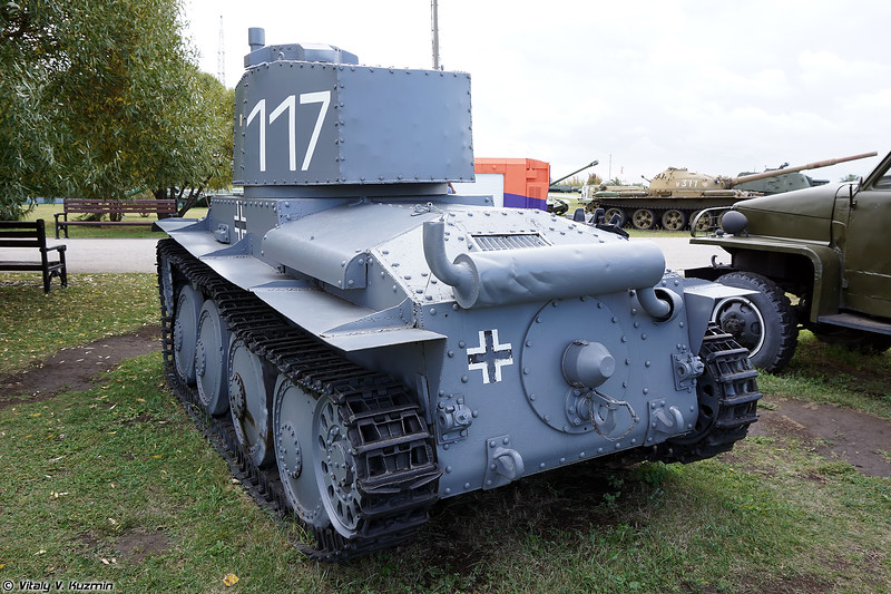 PzKpfw. 38(t) с неоригинальной башней (PzKpfw. 38(t) Hybrid with poor quality turret replica)