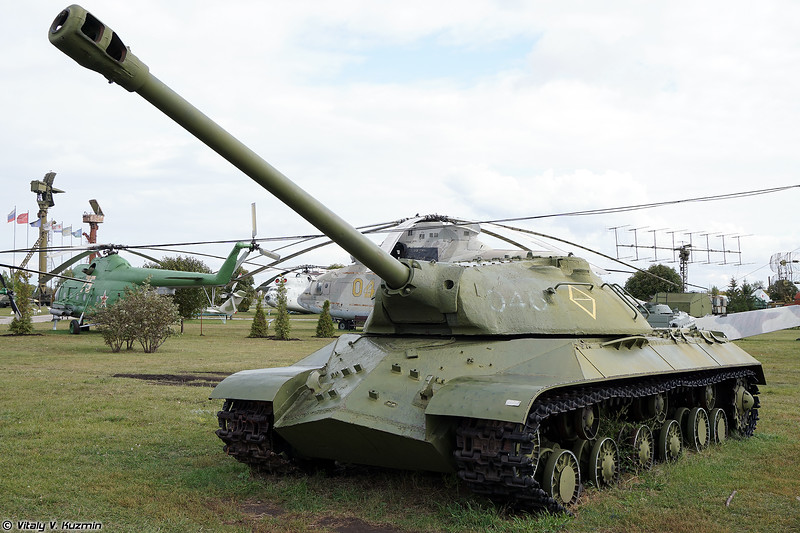 ИС-3М переделанный под ИС-3 (IS-3M visually modified to be IS-3)