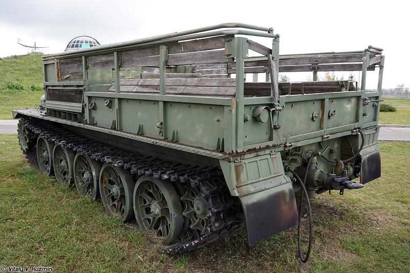 Артиллерийский тягач АТС-59 (ATS-59 artillery tractor)