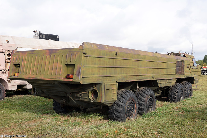 Колесное шасси БАЗ-6944 (BAZ-6944 special chassis)