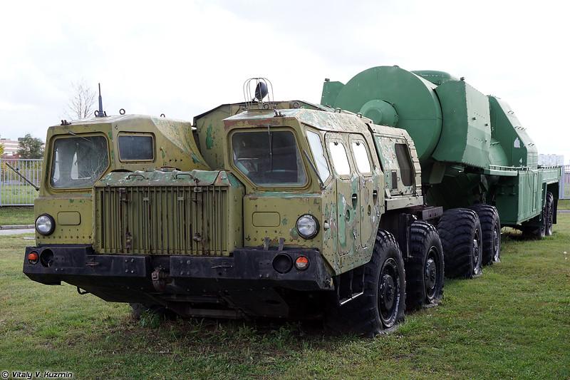 Подвижная заправочная автоцистерна окислителя 15Г95 ЗАЦ-1 (15G95 ZATs-1 oxidizing agent refueling vehicle)
