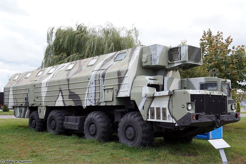 Машина-общежитие 15Т118 (15T118 sleeping compartment vehicle)