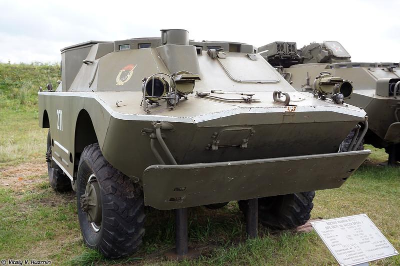 Боевая машина 9П122 ПТРК 9К14М Малютка-М (9P122 ATGM 9K14M Malyutka-M)