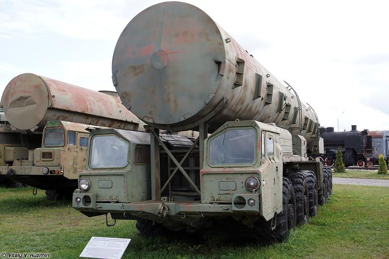 15T316 агрегат сопровождения колонны технического замыкания ПГРК 15П642, 15П645, 15П645К, 15П653, 15П656 (15T316 support vehicle for SS-16 ICBM and SS-20 IRBM systems)